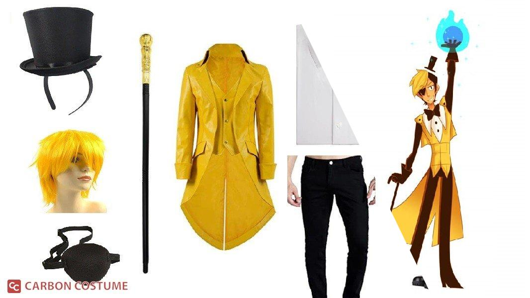 Human Bill Cipher from Gravity Falls Cosplay Tutorial
