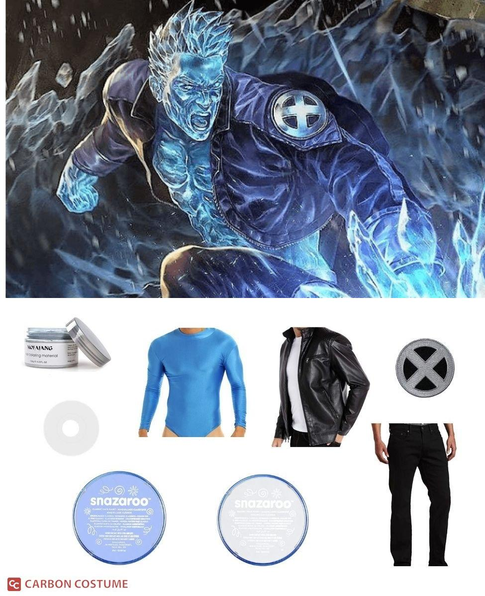 Iceman Cosplay Guide