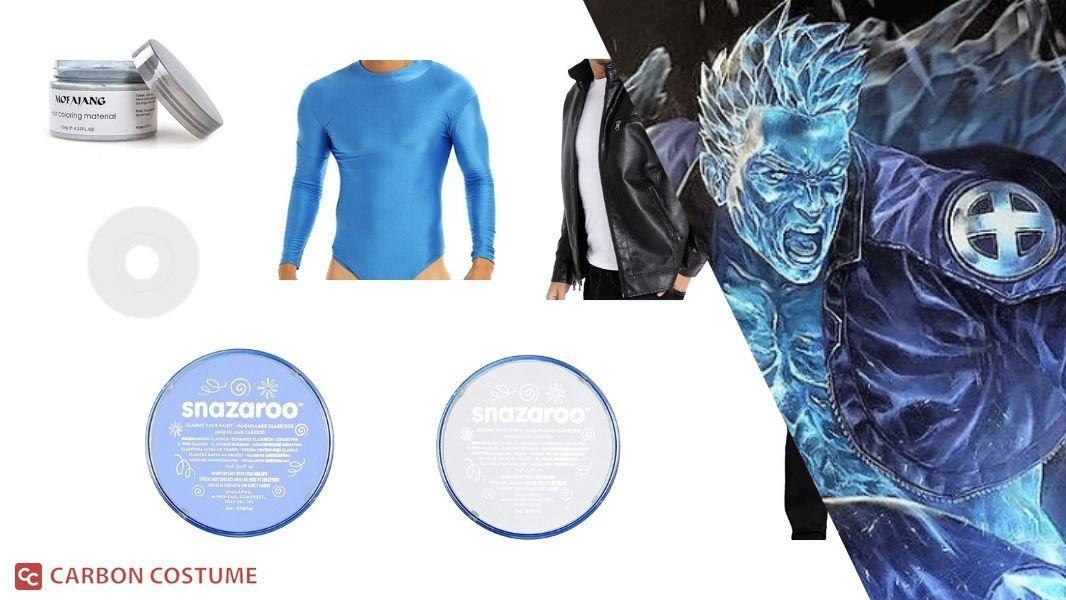 Iceman Cosplay Tutorial