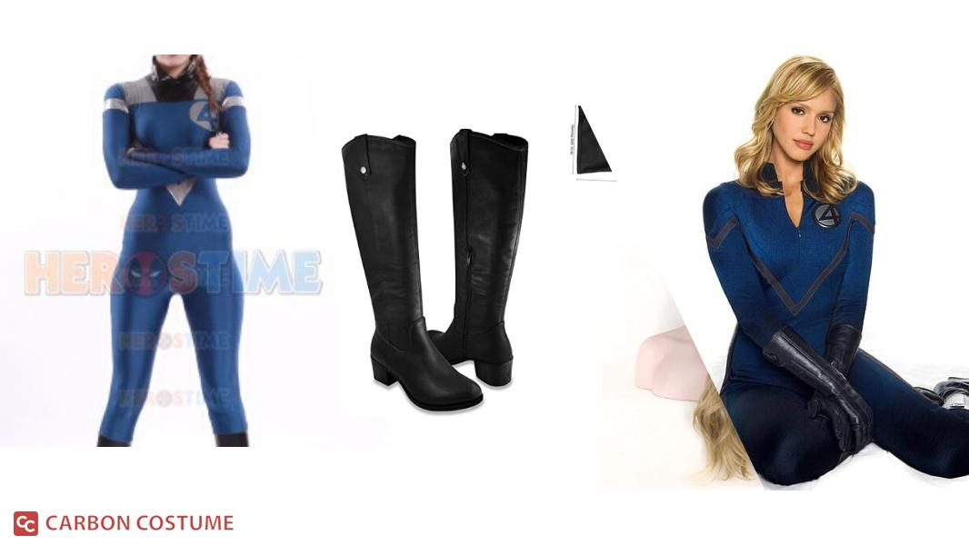 Invisible Woman from The Fantastic Four Cosplay Tutorial