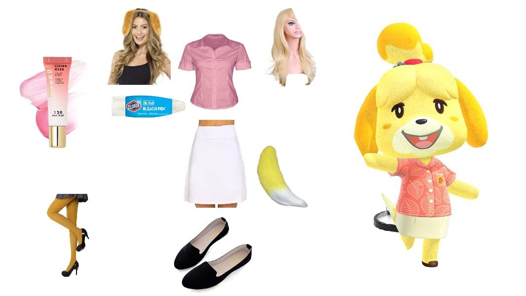 Isabelle from Animal Crossing: New Horizons Cosplay Tutorial
