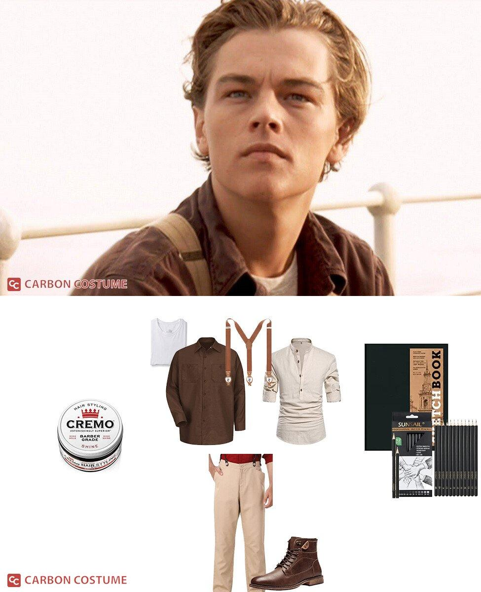 Jack Dawson from Titanic Cosplay Guide