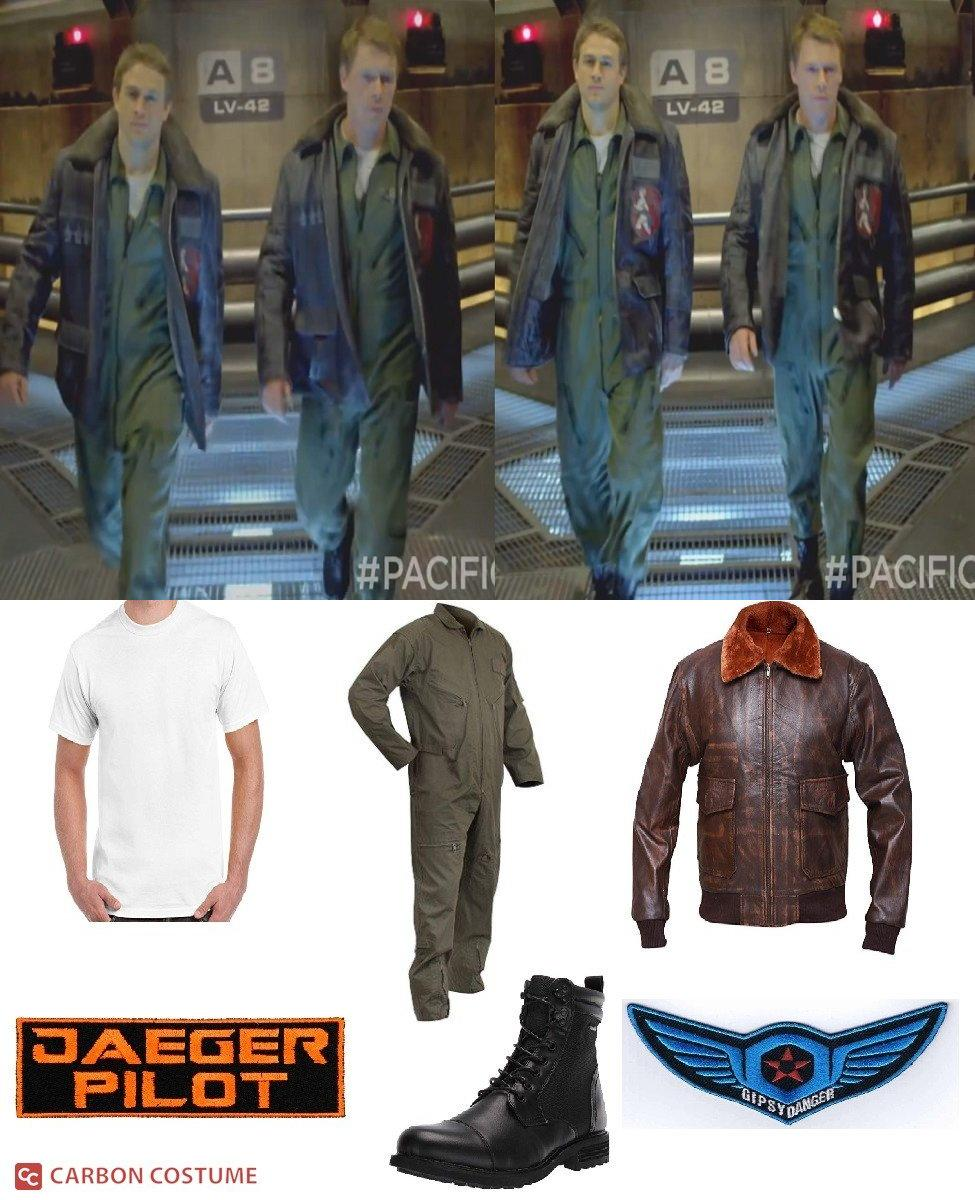 Jaeger Pilot from Pacific Rim Cosplay Guide
