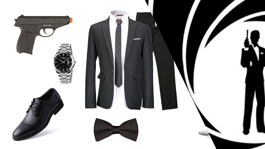 James Bond Cosplay Tutorial