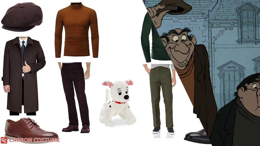 Jasper and Horace from 101 Dalmatians Cosplay Tutorial