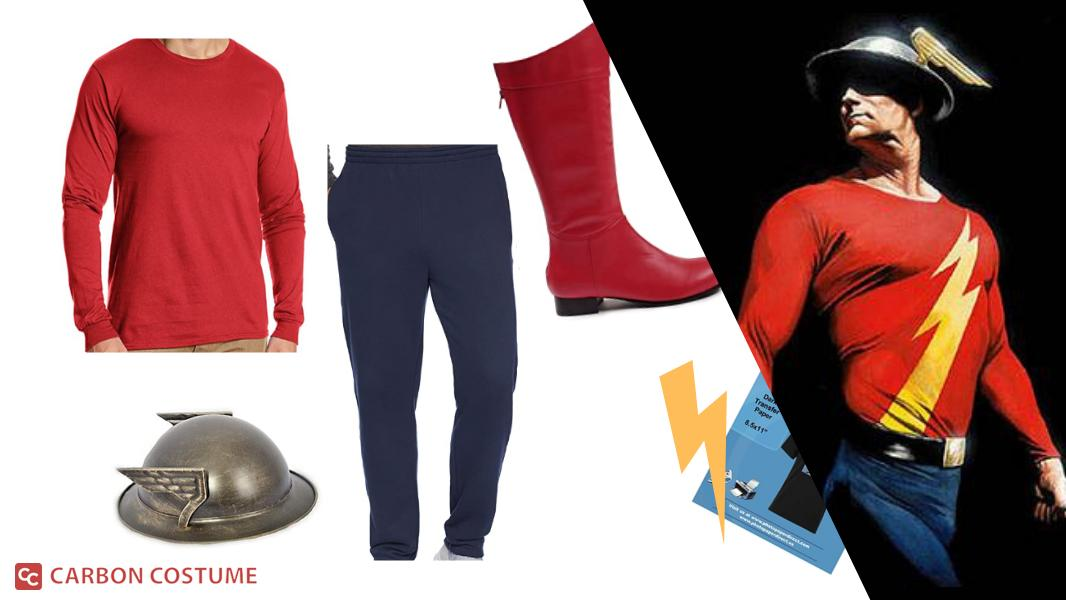 Jay Garrick from The Flash Cosplay Tutorial