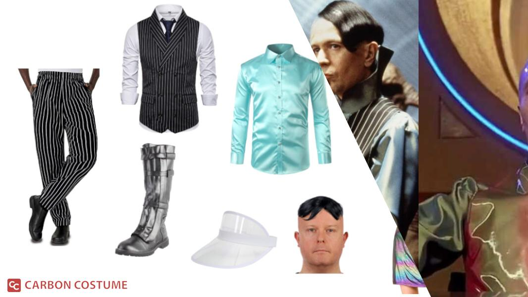Jean-Baptiste Emanuel Zorg from The Fifth Element Cosplay Tutorial