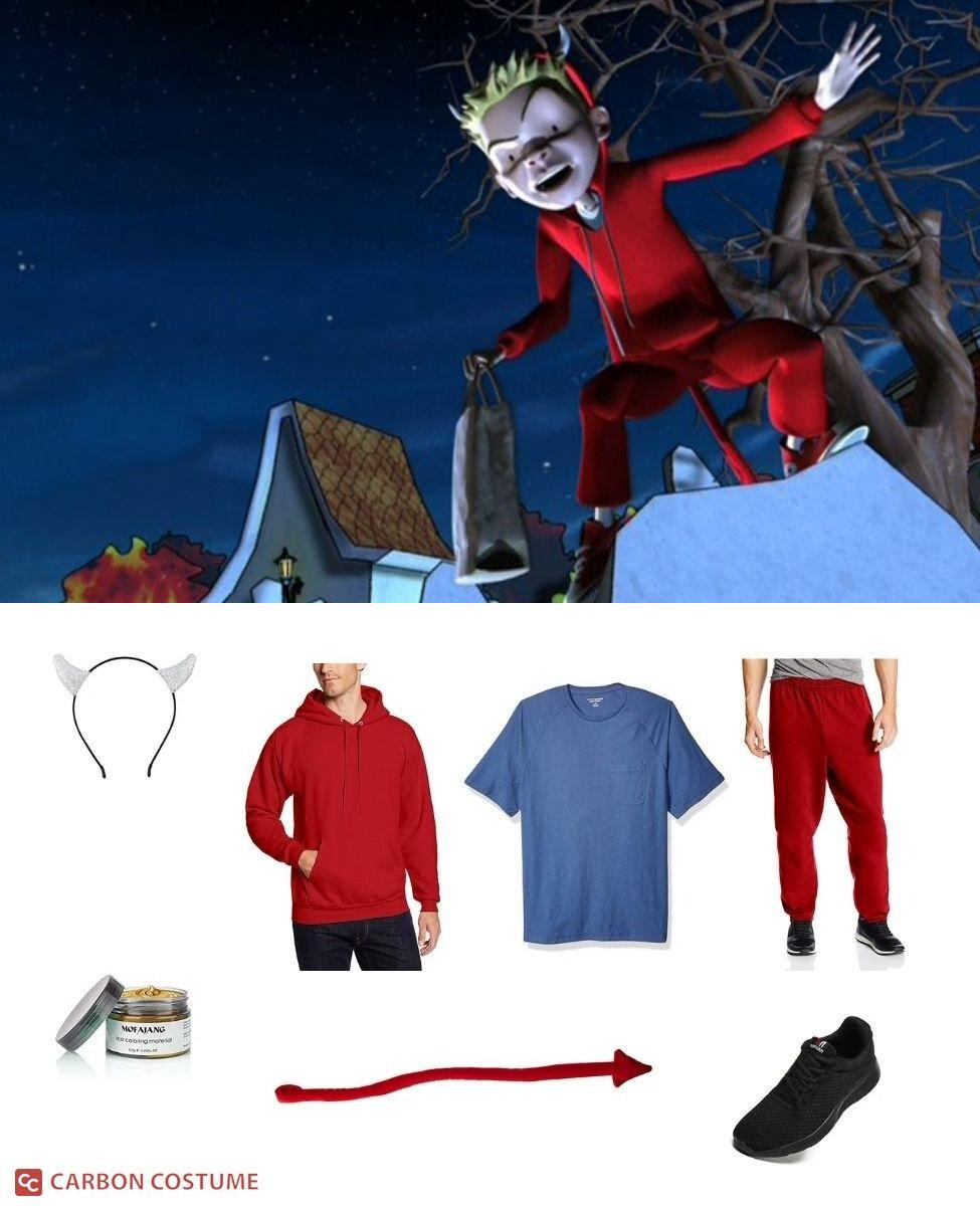 Jimmy from Scary Godmother Cosplay Guide