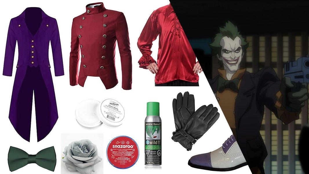 Joker from Batman: Assault on Arkham Cosplay Tutorial