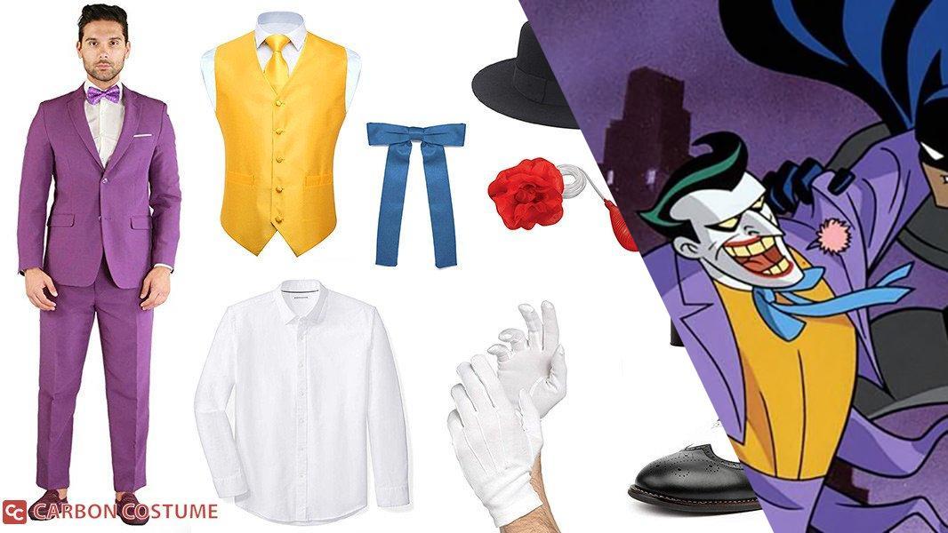 Joker from Batman: The Animated Series Cosplay Tutorial