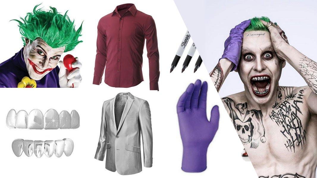 Joker in Suicide Squad Cosplay Tutorial