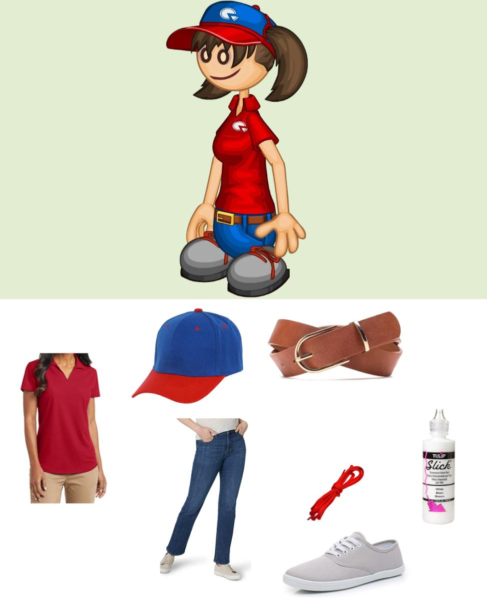 Joy from Papa Louie Cosplay Guide
