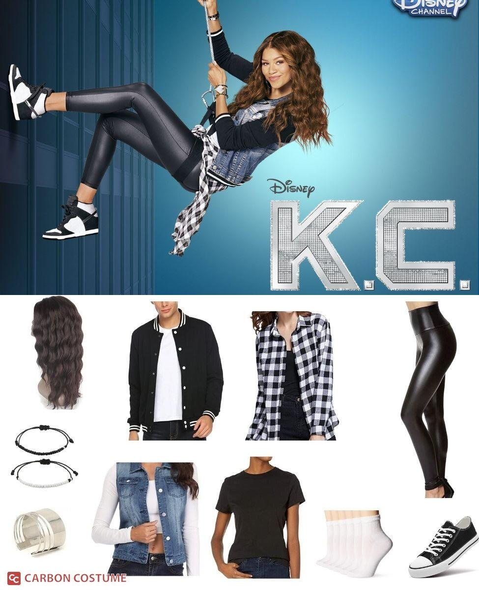 K.C. Cooper from K.C. Undercover Cosplay Guide