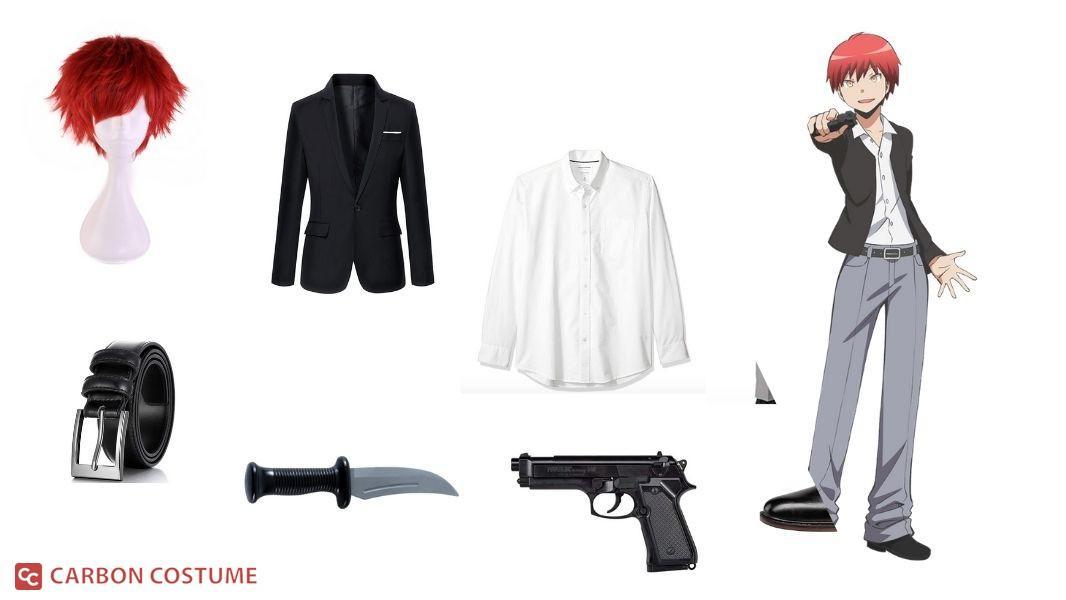 Karma Akabane from Assassination Classroom Cosplay Tutorial