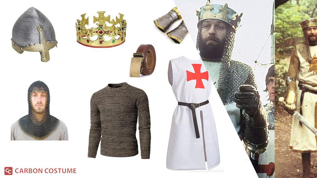King Arthur from Monty Python and the Holy Grail Cosplay Tutorial