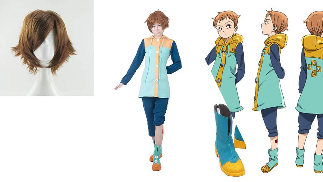 King from Seven Deadly Sins Cosplay Tutorial
