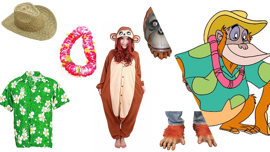 King Louie from TaleSpin Cosplay Tutorial