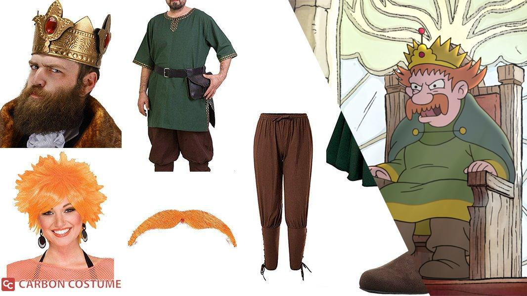 King Zog from Disenchantment Cosplay Tutorial