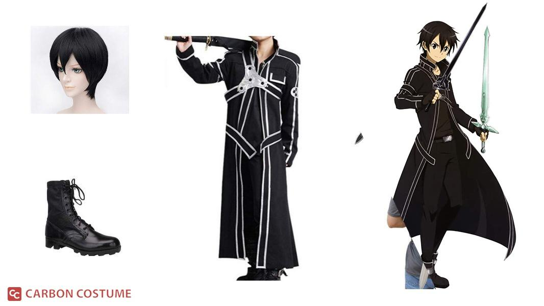 Kirito from Sword Art Online Cosplay Tutorial