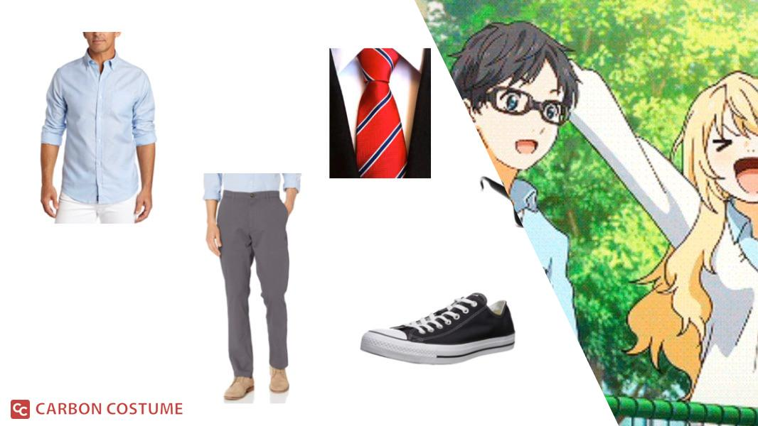 Kosei from Your Lie in April Cosplay Tutorial