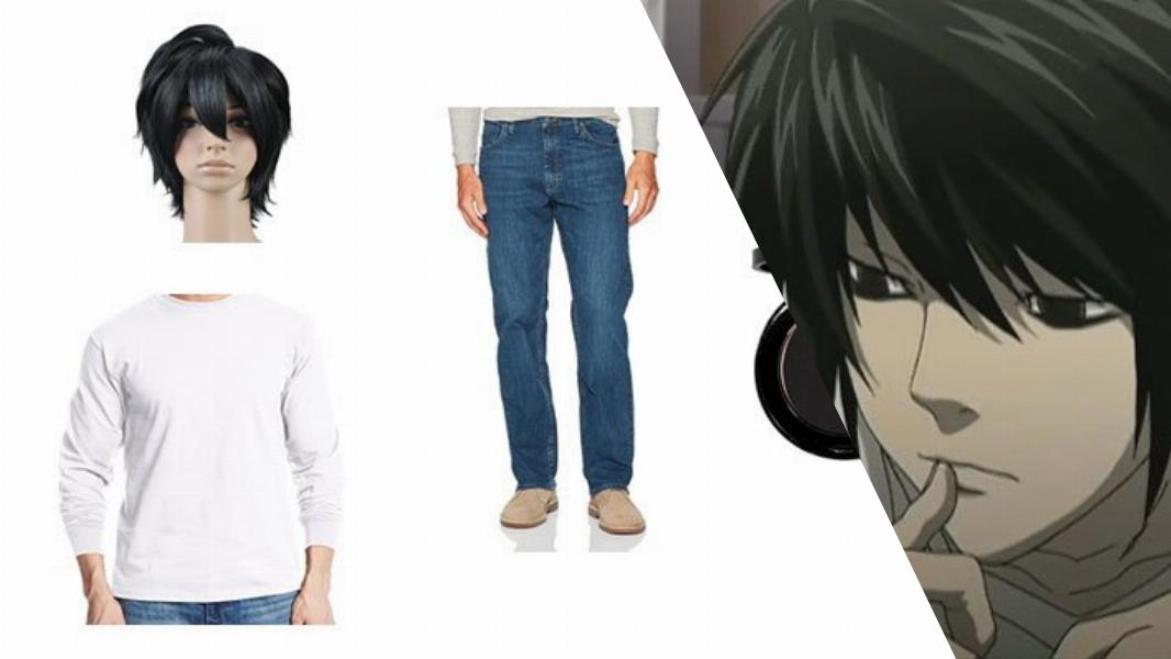 L from Death Note Cosplay Tutorial