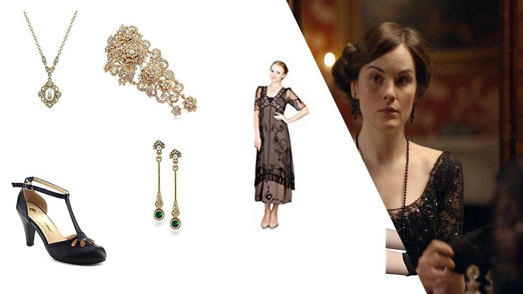 Lady Mary Crawley Cosplay Tutorial
