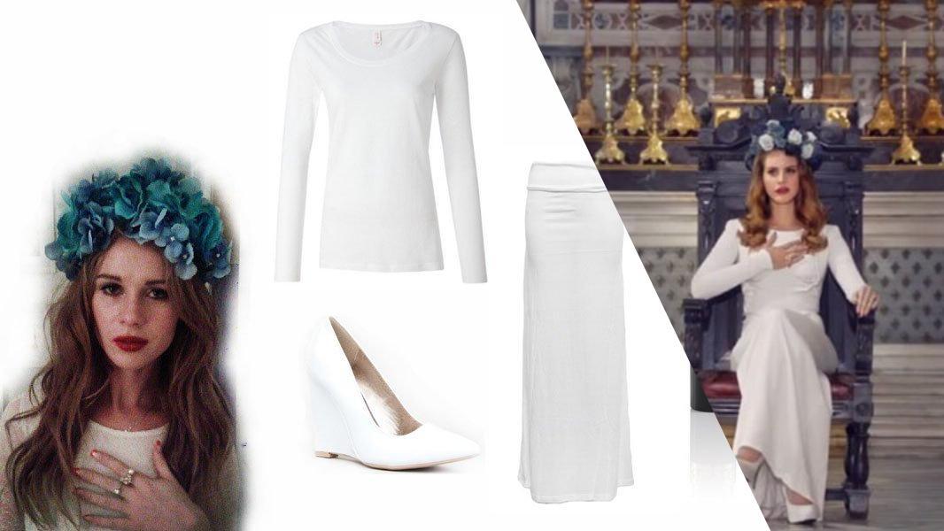 Lana Del Rey Cosplay Tutorial