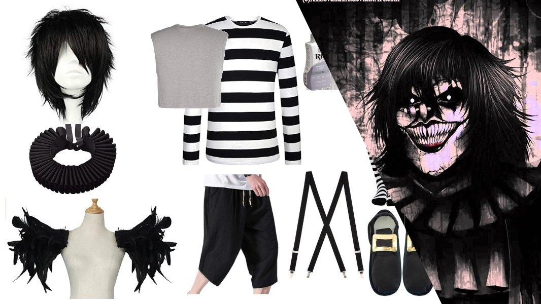 Laughing Jack from CreepyPasta Cosplay Tutorial