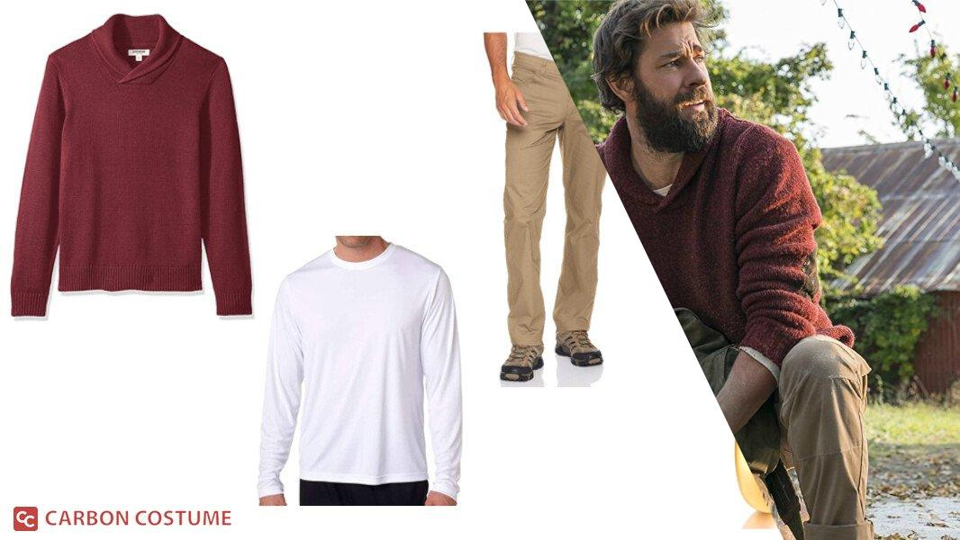 Lee Abbott from A Quiet Place Cosplay Tutorial