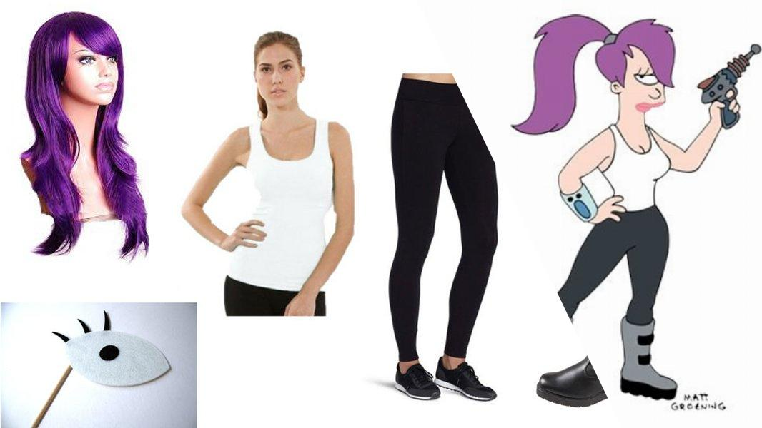 Leela Cosplay Tutorial