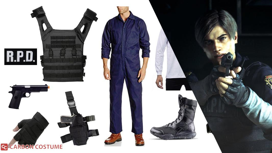 Leon S. Kennedy from Resident Evil 2 Cosplay Tutorial