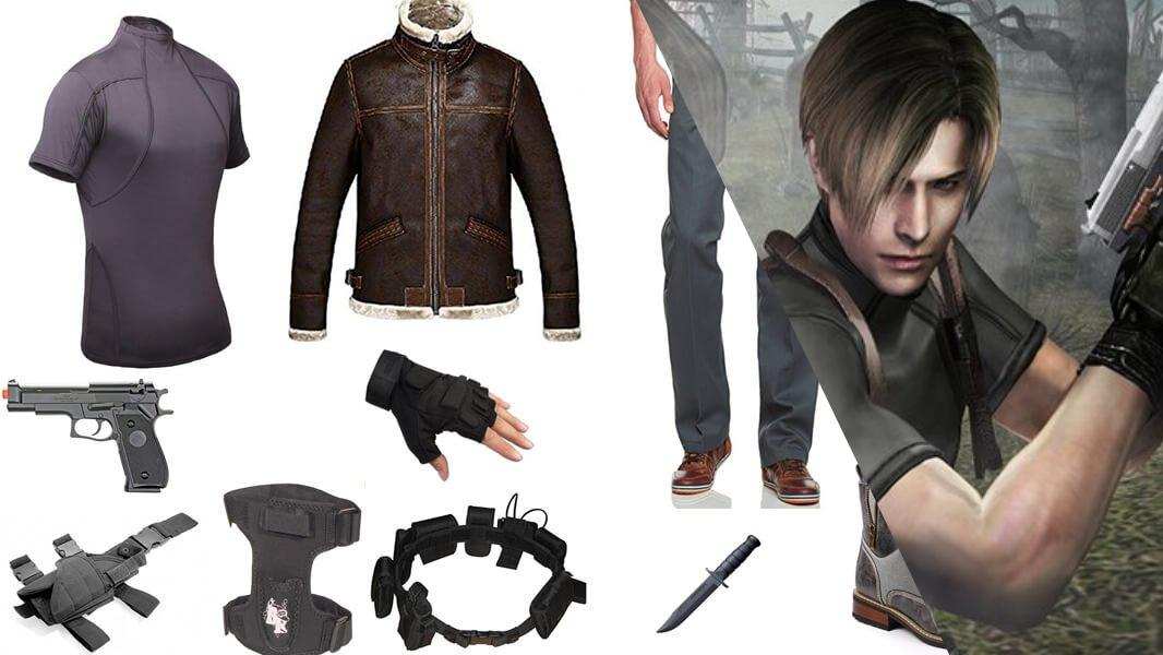 Leon S Kennedy from Resident Evil 4 Cosplay Tutorial