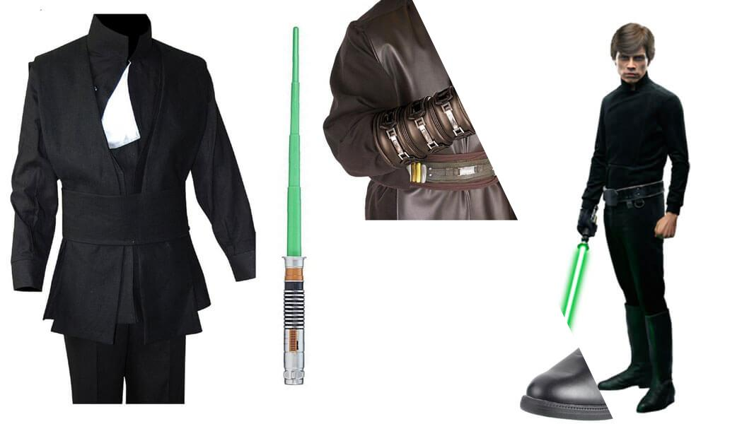 Luke Skywalker from Return of the Jedi Cosplay Tutorial