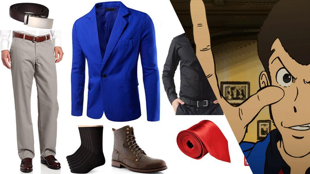 Lupin III Blue Jacket Series Version Cosplay Tutorial