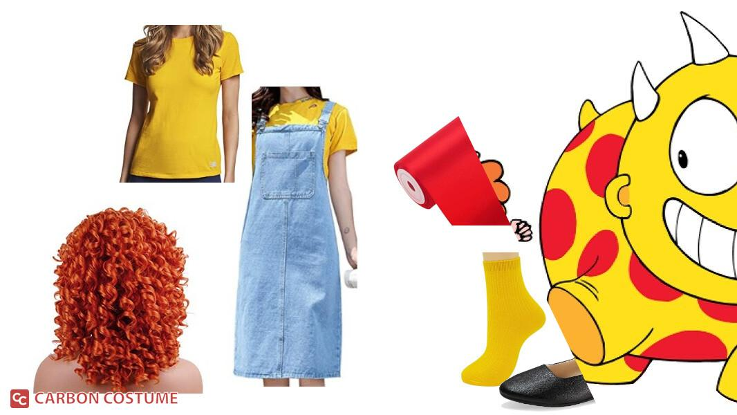 Maggie from Maggie and the Ferocious Beast Cosplay Tutorial