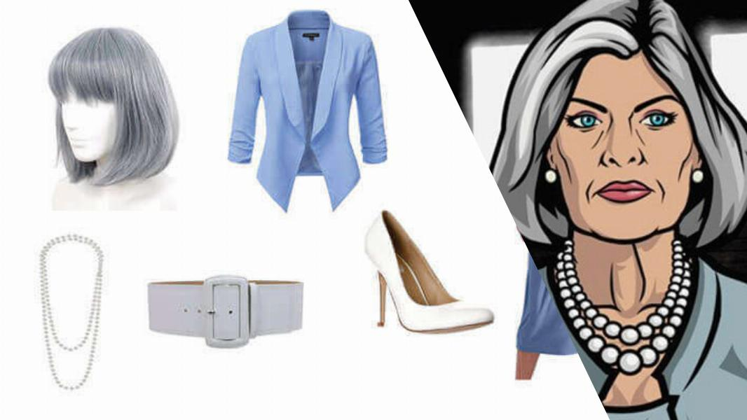 Malory Archer Cosplay Tutorial