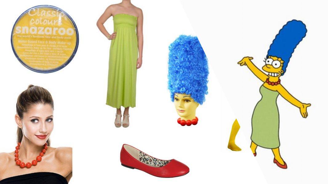 Marge Simpson Cosplay Tutorial