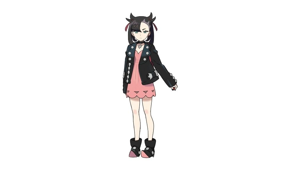 Marnie from Pokemon Sword and Shield