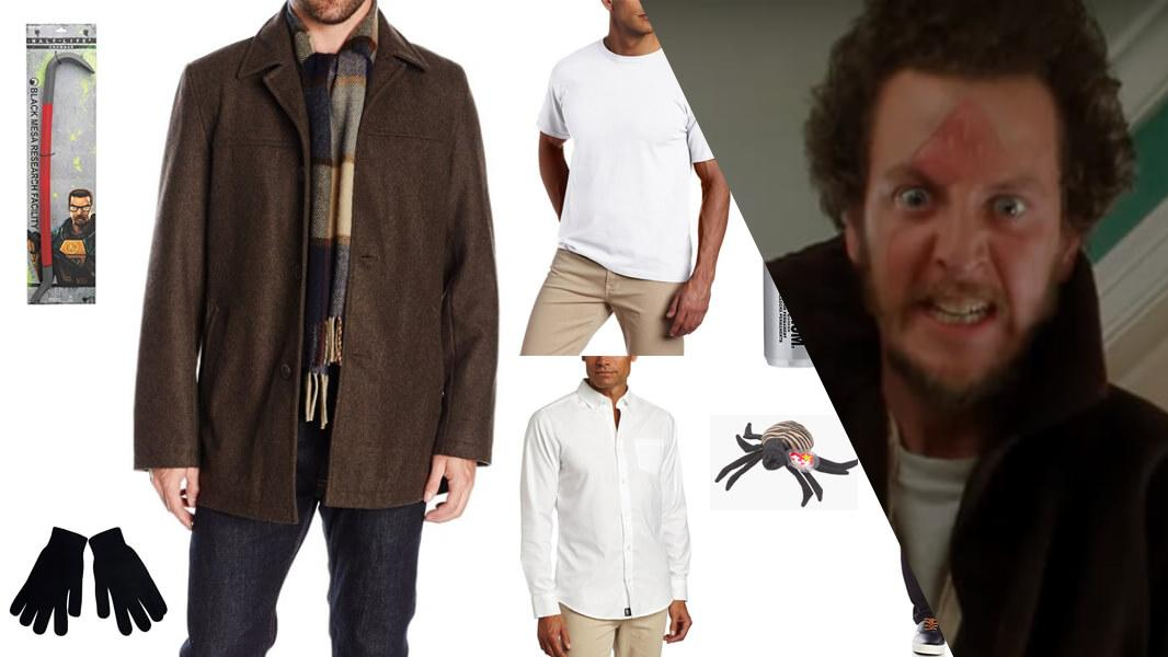 Marv from Home Alone Cosplay Tutorial