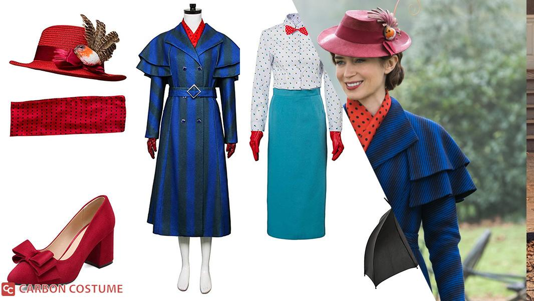 Mary Poppins from Mary Poppins Returns Cosplay Tutorial