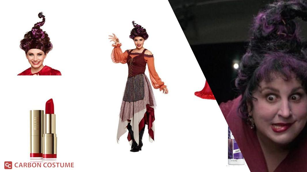 Mary Sanderson from Hocus Pocus Cosplay Tutorial