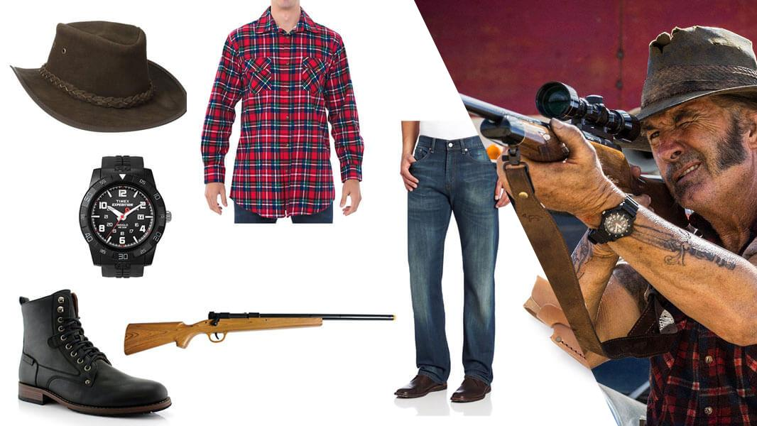Mick Taylor from Wolf Creek Cosplay Tutorial