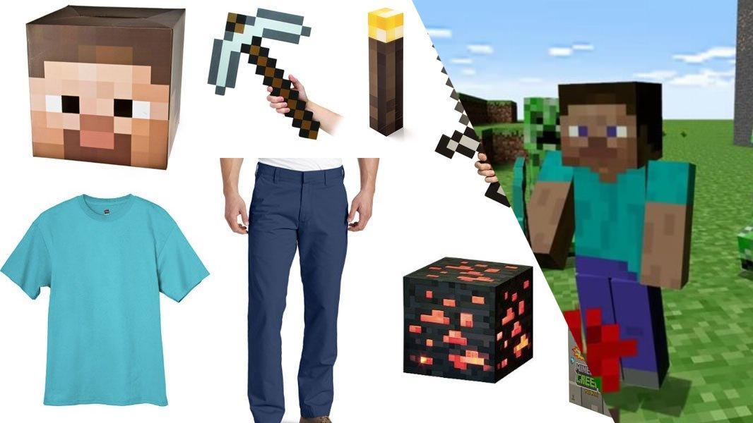 Minecraft Steve Cosplay Tutorial