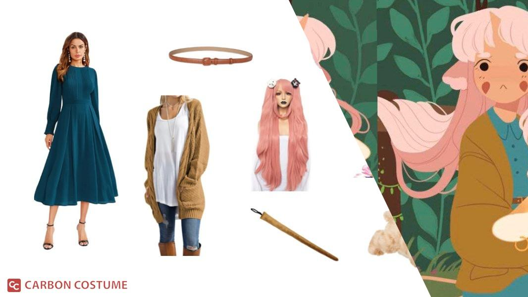 Minette from The Tea Dragon Society Cosplay Tutorial