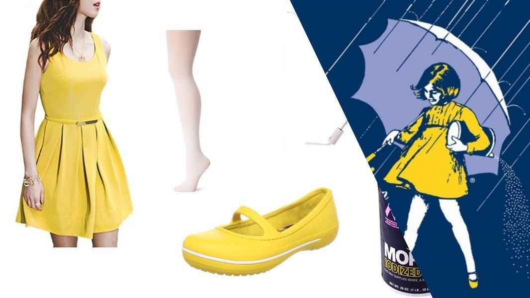 Morton Salt Umbrella Girl Cosplay Tutorial
