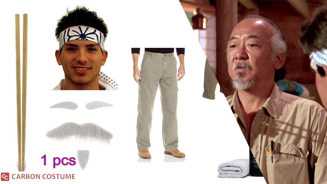 Mr. Miyagi Cosplay Tutorial