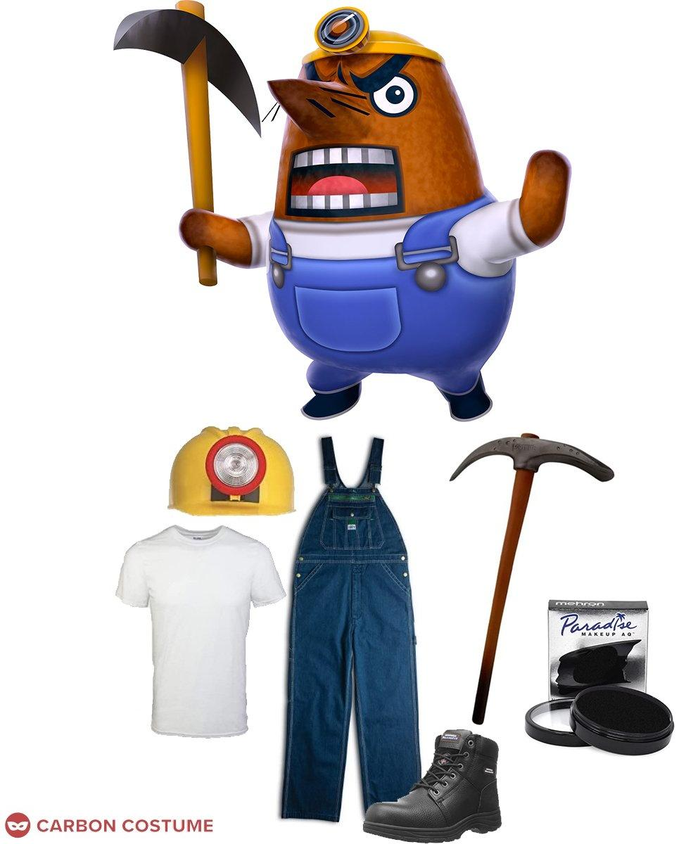 Mr. Resetti from Animal Crossing Cosplay Guide