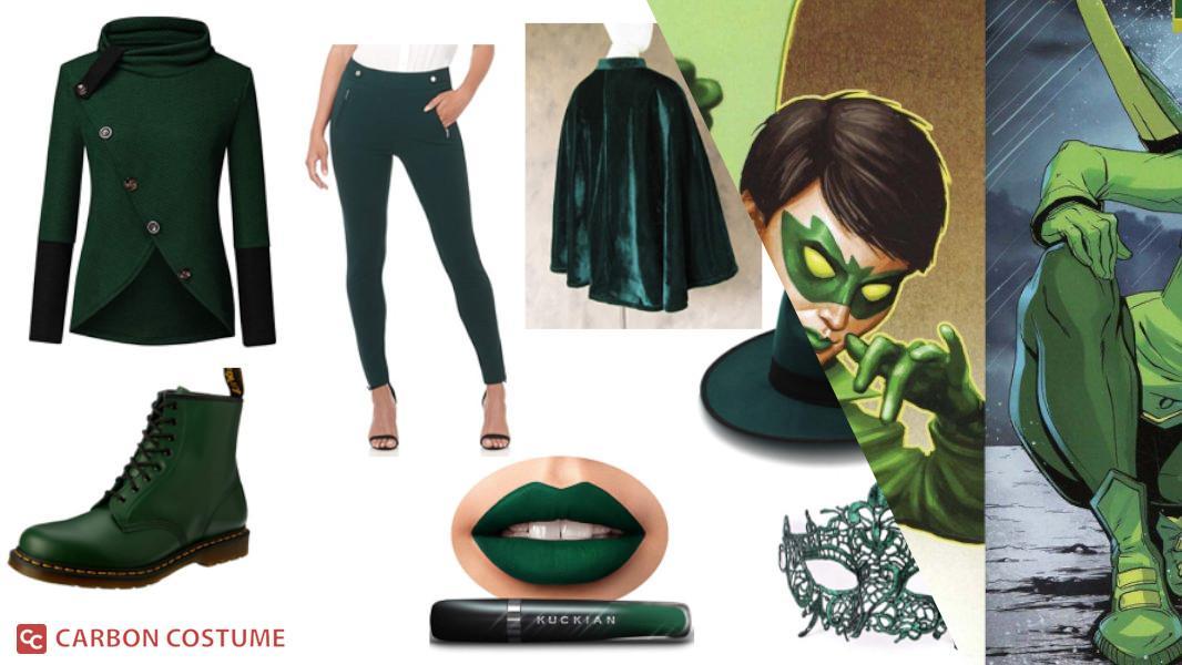 Mulan Kato as Green Hornet Cosplay Tutorial