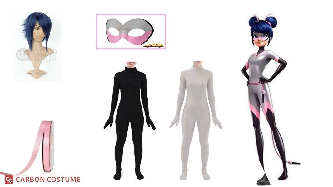 Multimouse from Miraculous Ladybug Cosplay Tutorial