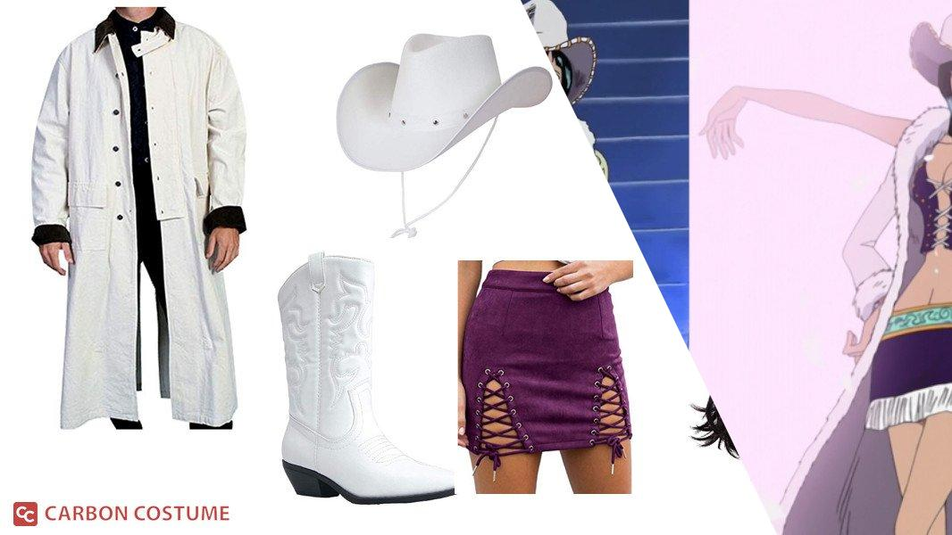 Nico Robin's White Cowboy Outfit from One Piece Cosplay Tutorial